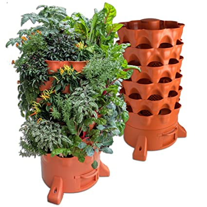 Garden Tower 2 , The Composting 50 Plant Organic Container Garden