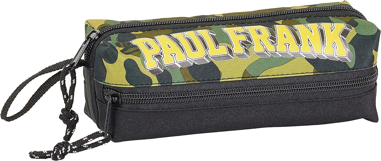 Paul Frank Camo Oficial Estuche Escolar 200x80x70mm: Amazon.es: Oficina y papelería