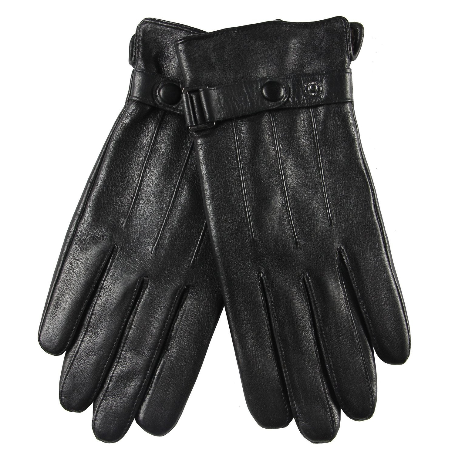 Plain leather gloves mens - Warmen Classic Men S Goatskin Leather Driving Unlined Daily Gloves Plain Style