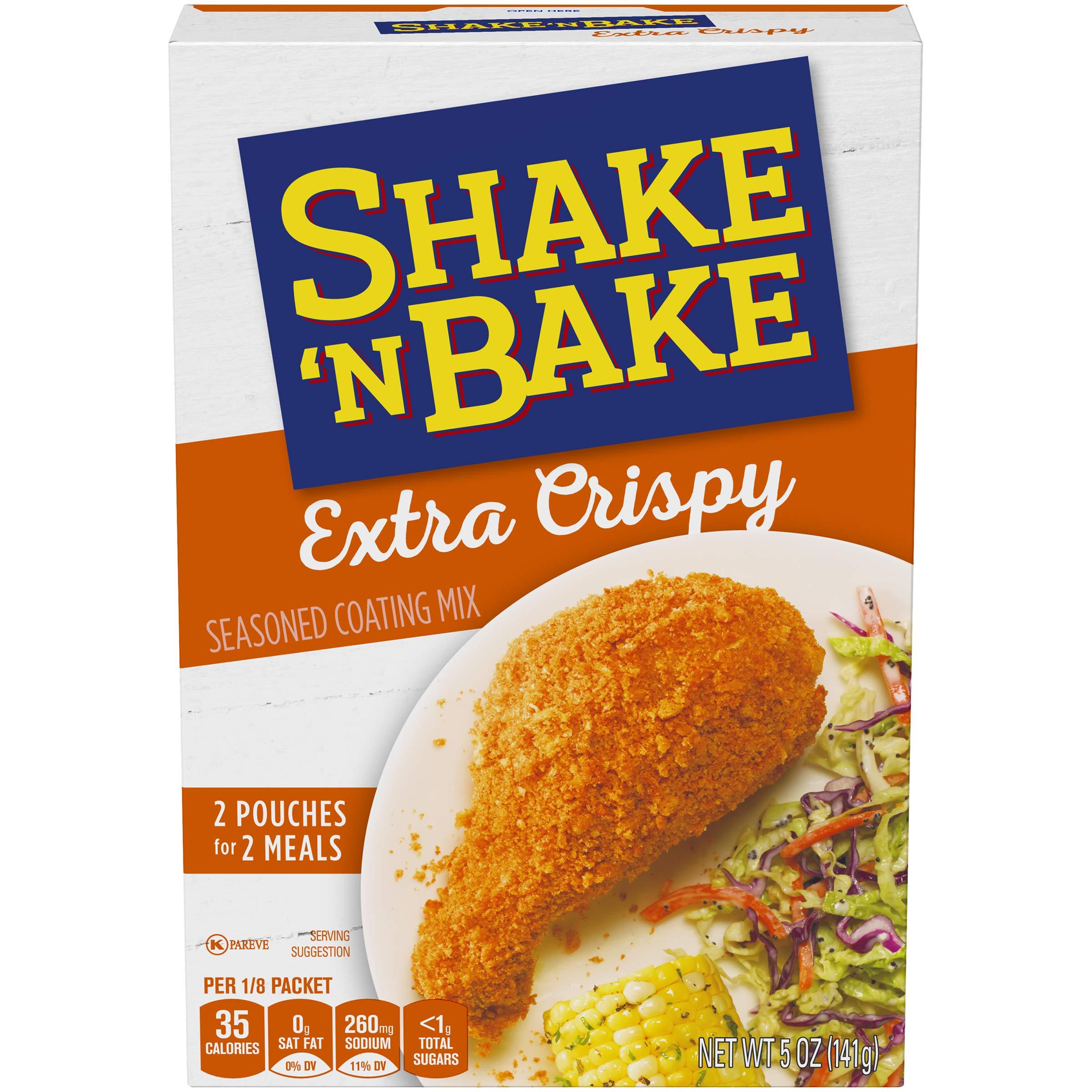 Shake 'n Bake Extra Crispy Seasoned Coating Mix (5 oz Box)