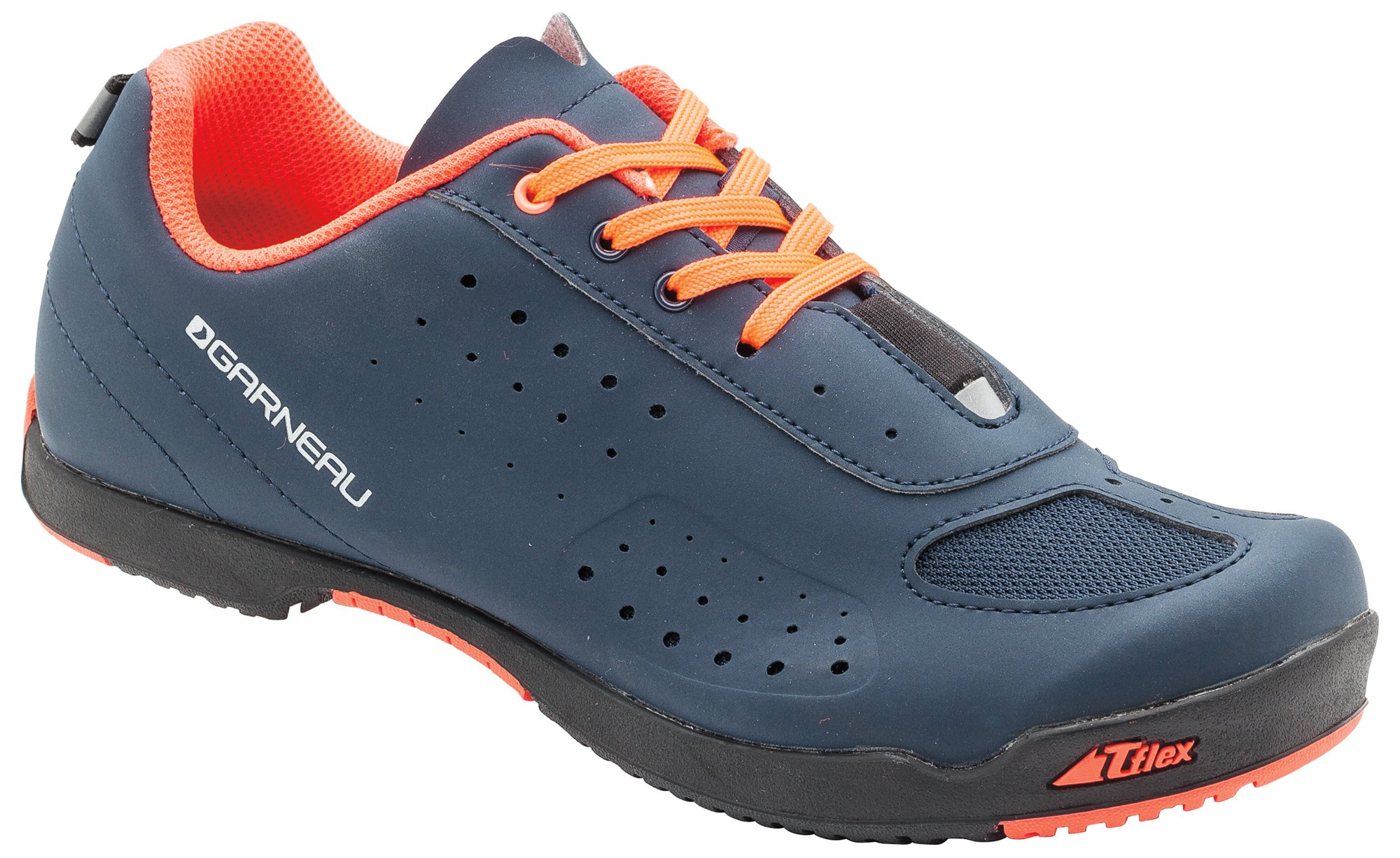 Louis Garneau - Women's Urban Bike Shoes, Dark Night/Coral Mania, US (6.5), EU (37)