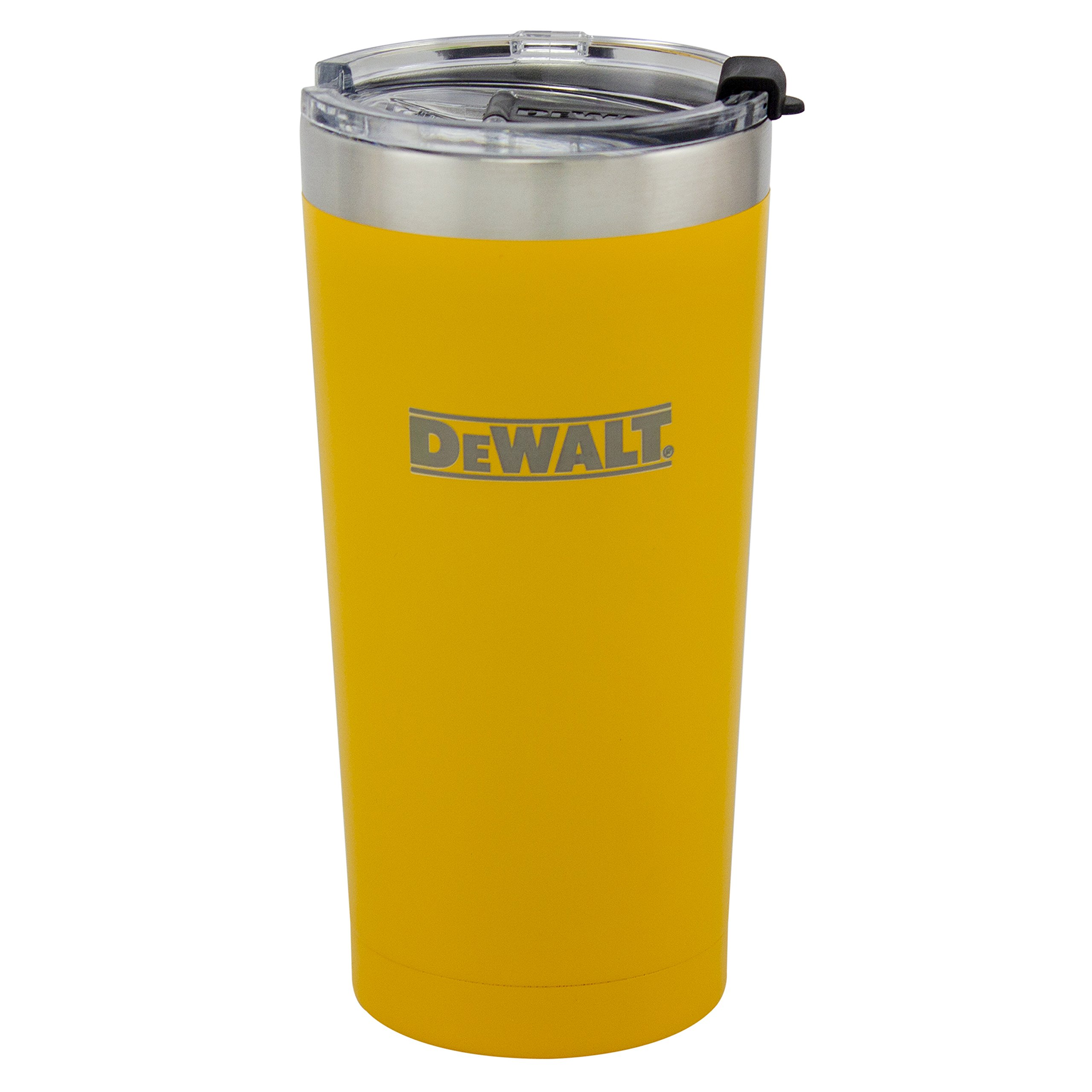 DEWALT Stainless Steel Tumbler, Yellow, 20 Ounce