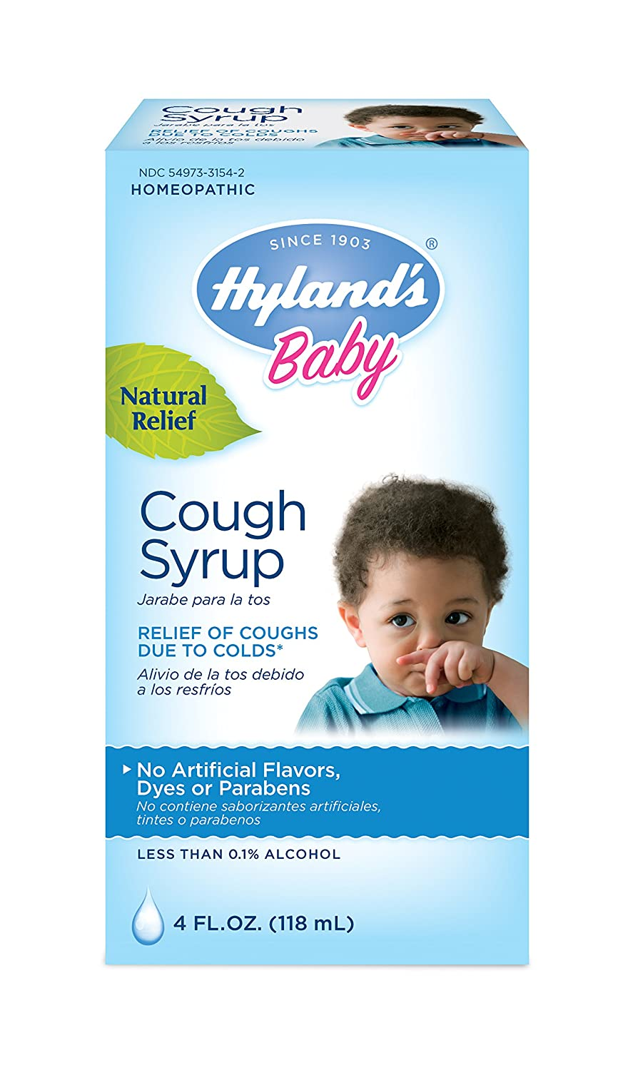 Natural remedy for cold and cough in babies