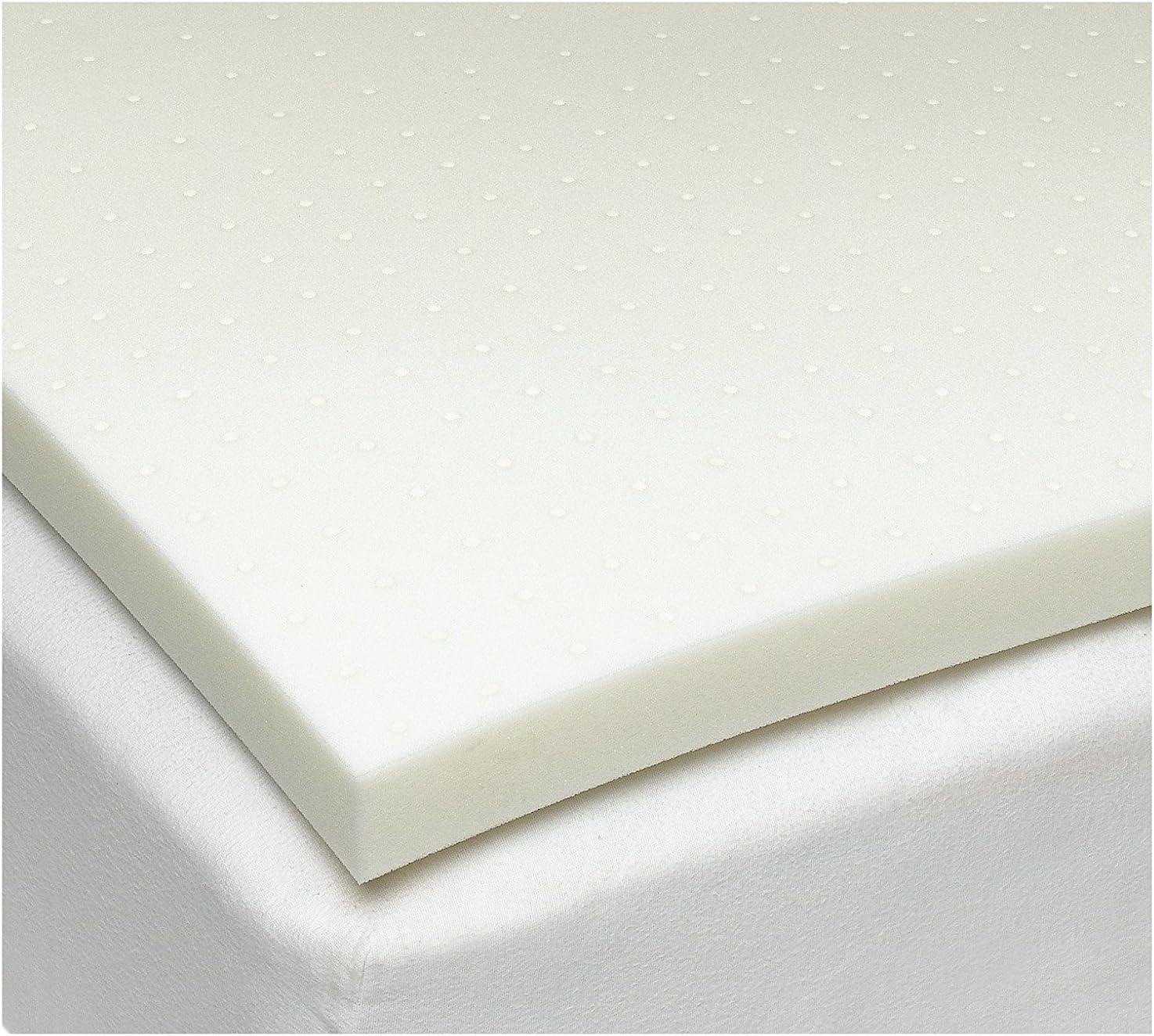 Sleep Joy 2 ViscO2 Ventilated Memory Foam Mattress Topper
