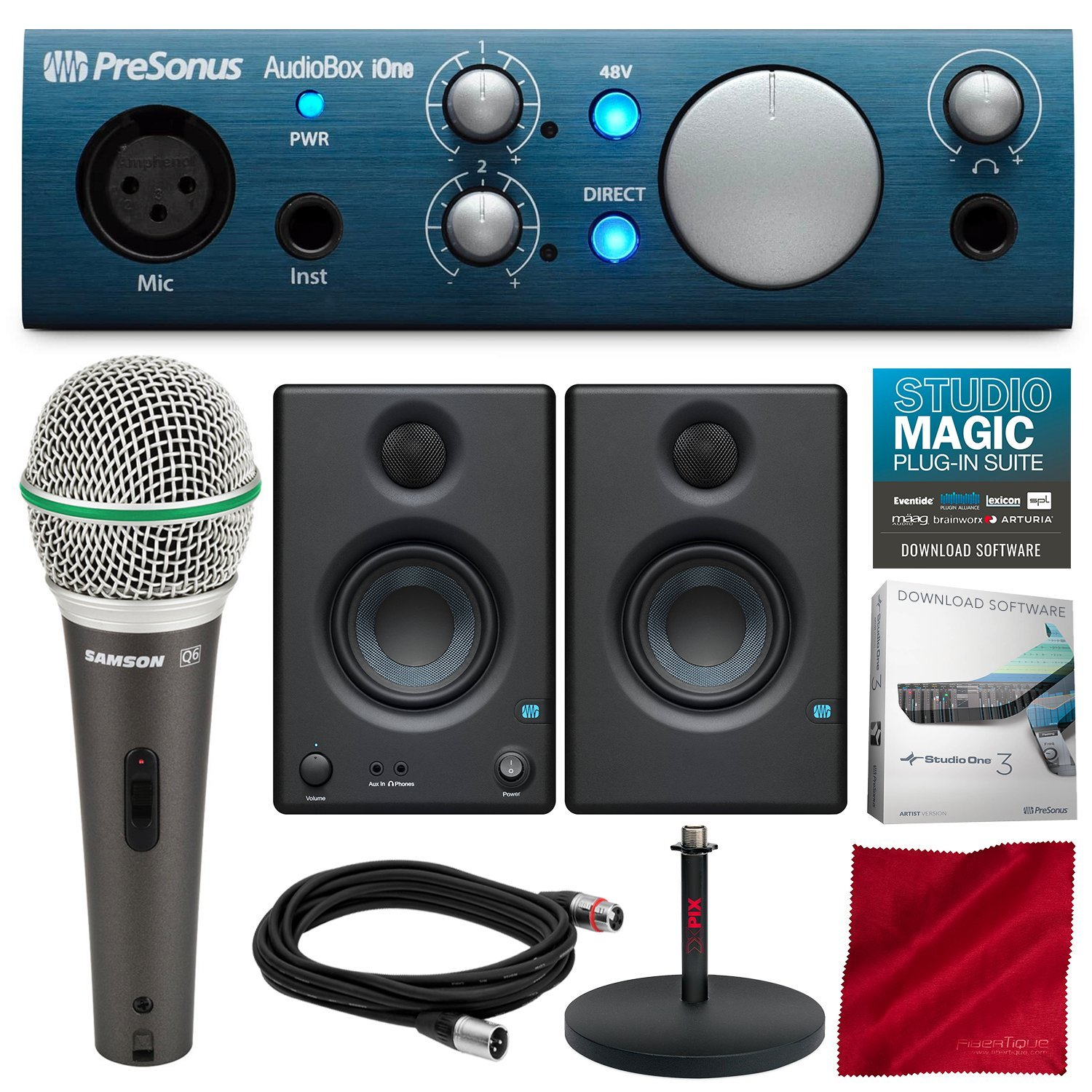 Amazon.com: PreSonus Audiobox Ione – 2 x 2 USB/iPad sistema ...