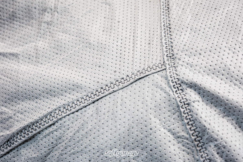 SOFTGARAGE 3-lagig lichtgrau Indoor Outdoor atmungsaktiv wasserabweisend Car Cover Vollgarage Ganzgarage Autoplane Autoabdeckung 101010-4001072