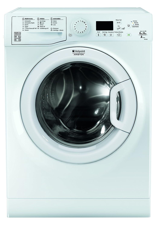Hotpoint FDG 8620 IT Independiente Carga frontal A Blanco lavadora ...