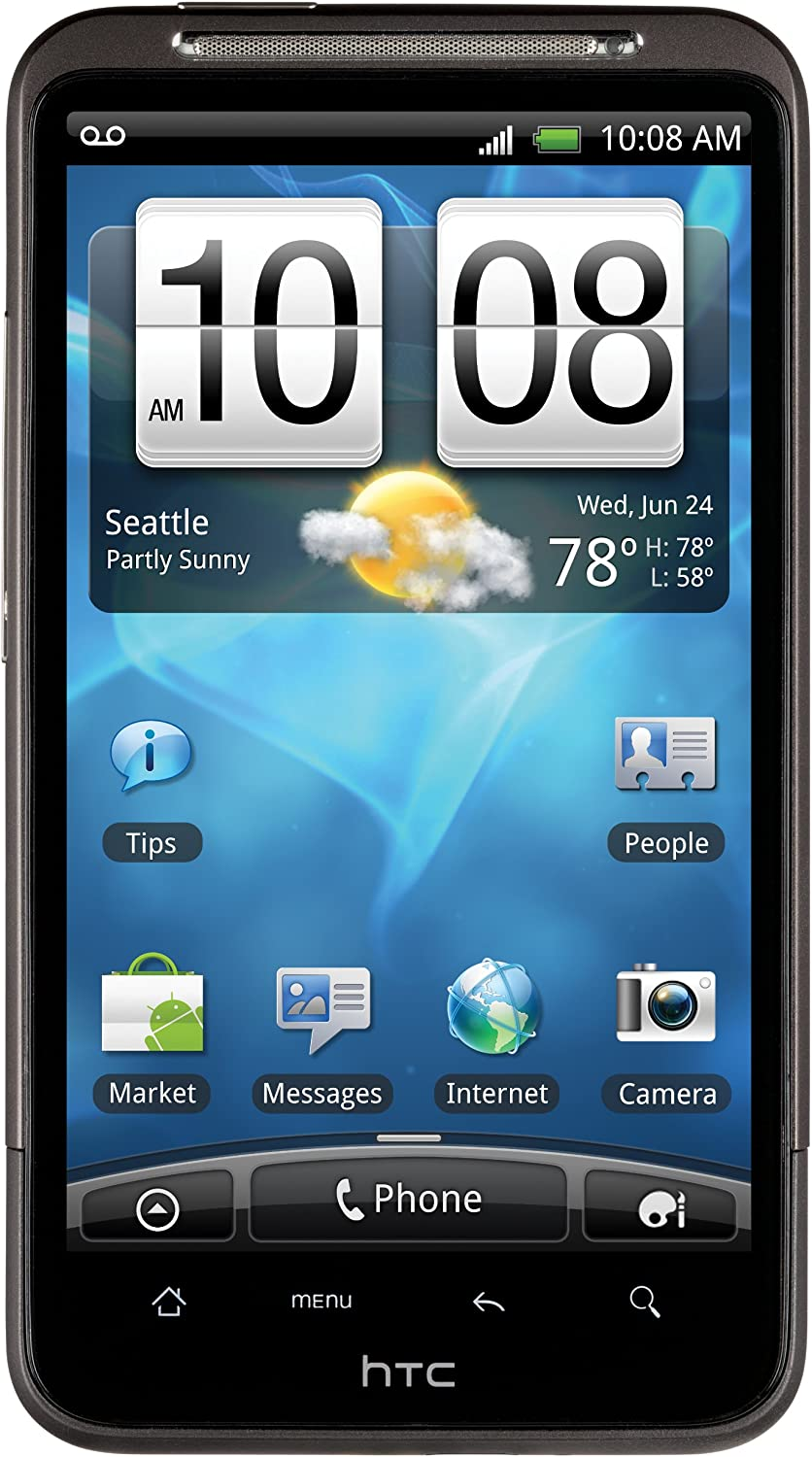 Amazon Com Htc Inspire 4g Android Phone Black At T