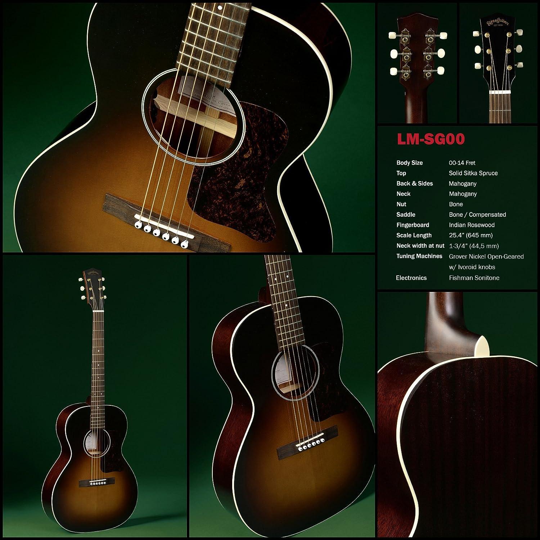 Guitarra Acústica Sigma lm-sg00: Amazon.es: Instrumentos musicales