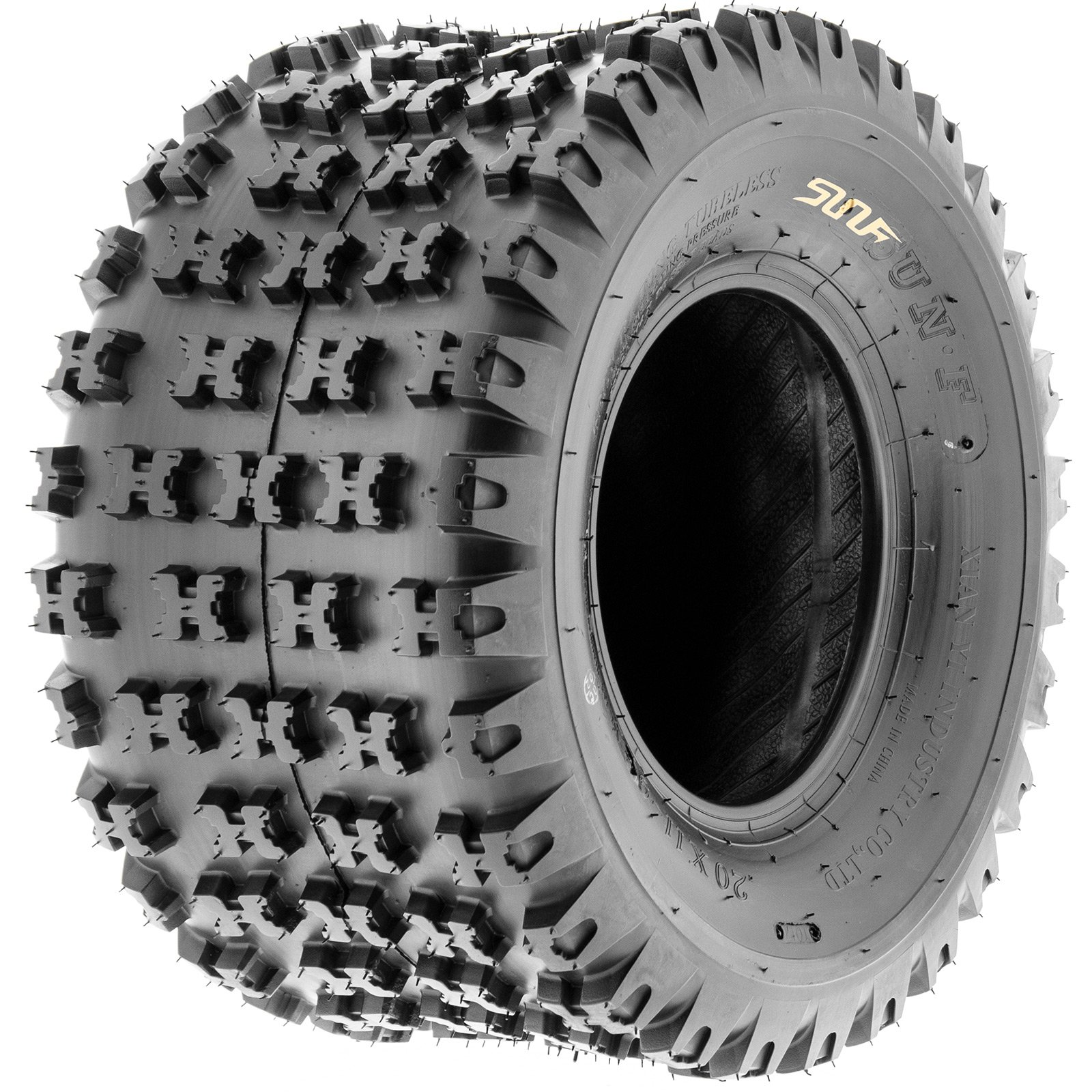 SunF Knobby Sport ATV Tires 20x6-10 & 18x10-8 4/6 PR A031 (Complete set of 4) by SunF (Image #10)