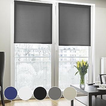 Rollos Für Altbaufenster fensterrollo lichtdurchlässig klemmfix ohne bohren rollo für