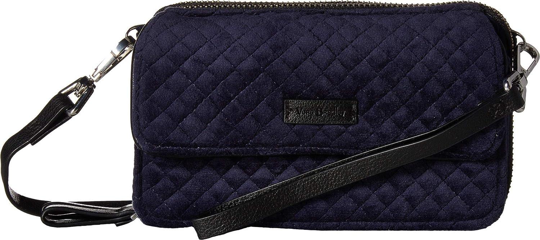 3e6b06bf49d3 Vera Bradley Women s Iconic RFID All-In-One Crossbody Calssic Navy 3 One  Size  Handbags  Amazon.com