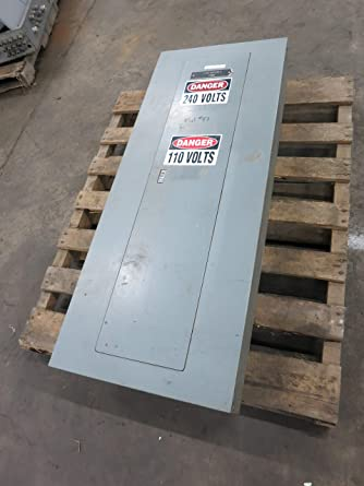 square d nqod442l225 + 225a main breaker panel 208y/120v nqod panelboard  225 amp: amazon com: industrial & scientific