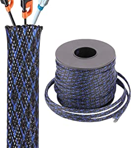 Braided PET Expandable Sleeving 1/8