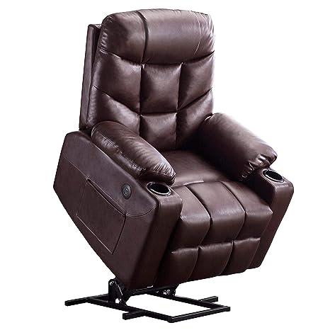 Amazon.com: Mcombo 7288 - Sofá reclinable eléctrico para ...