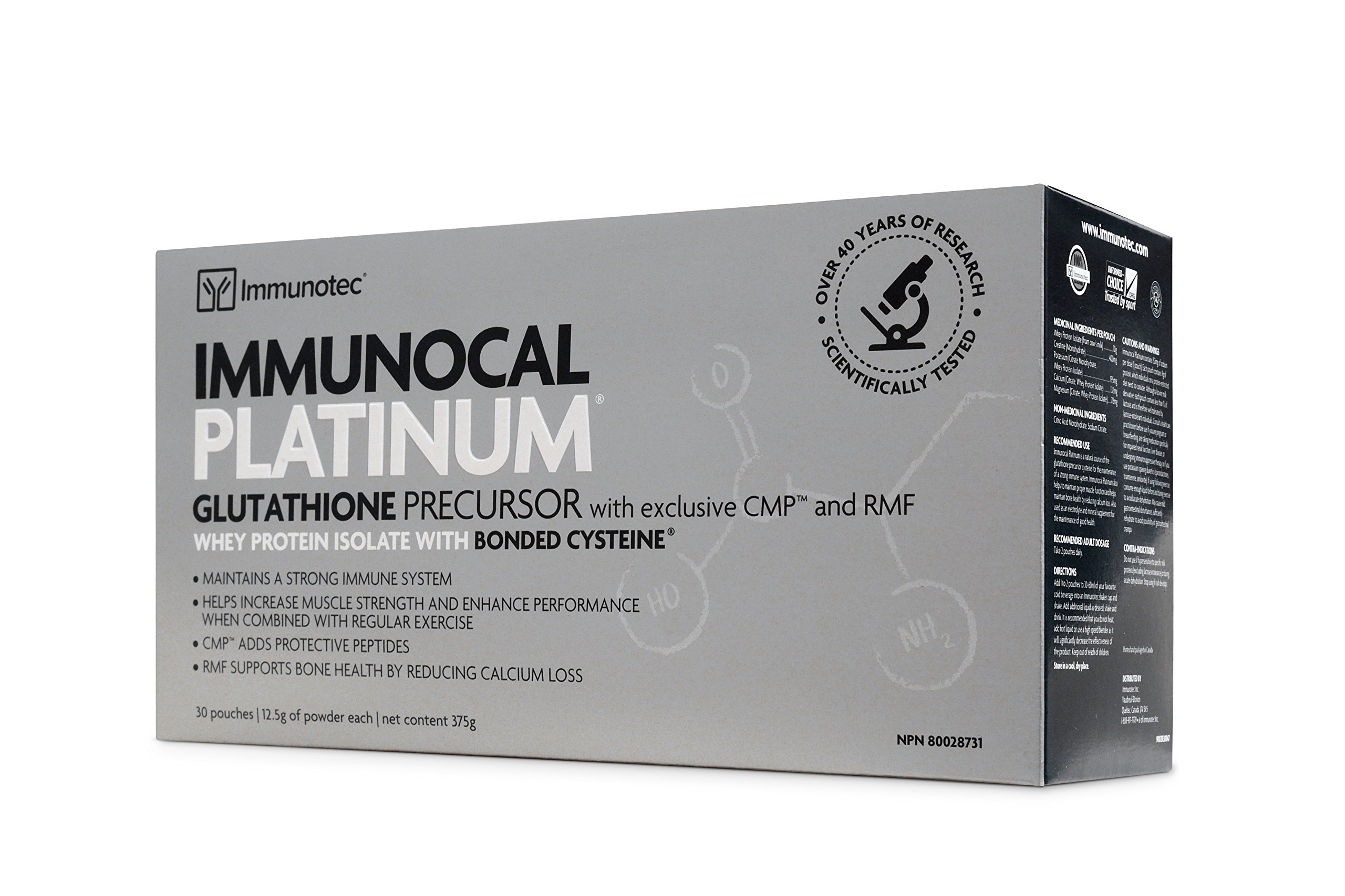 HMS-90 Immunocal Platinum (30packs) HMS 90 Brand: Immunocal, 0.44 oz