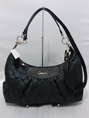 aa71445851 czech coach f58327 celeste hobo crossbody black smoke 583d1 2551a  where  can i buy coach ashley signature convertible hobo handbag black fb1e6 2bd7d