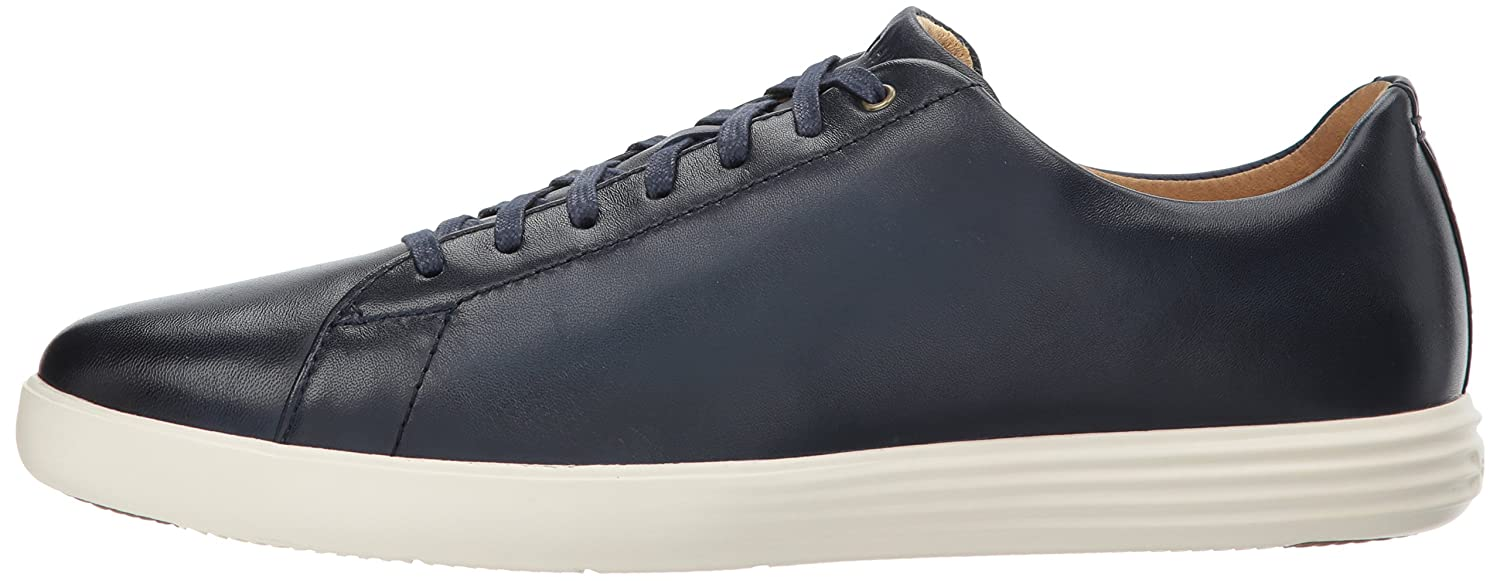Cole Haan Men's Grand Crosscourt II Sneaker 8 Burnished D(M) US|Navy Leather Burnished 8 B073K33CW4 8538c4