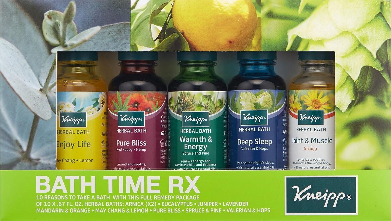 Amazon.com: Kneipp Herbal Bath, Bath Time RX Set of 10 Travel Size ...