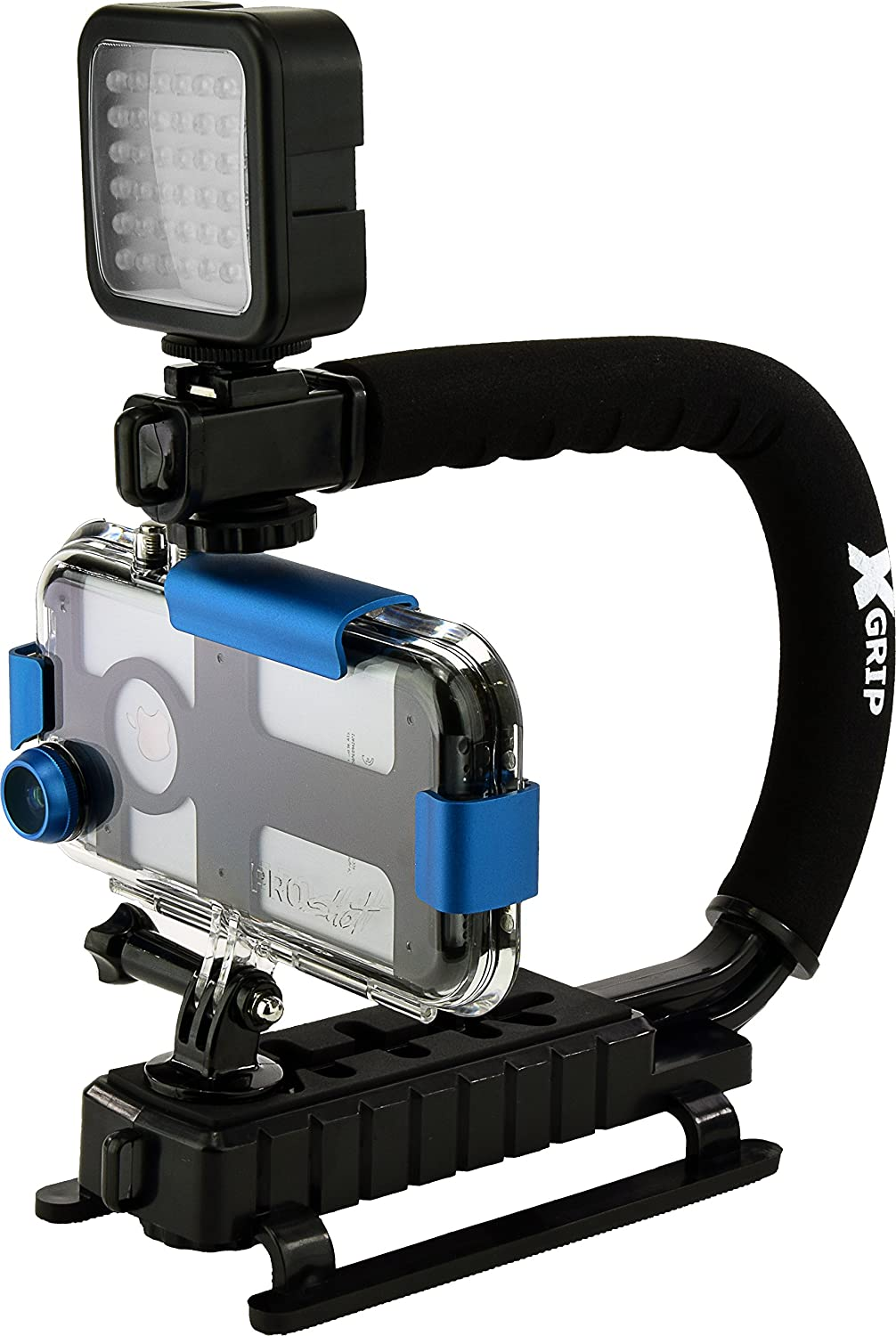 buy online d24c2 5a16e Amazon.com: ProShot Extreme 100ft Underwater Action Camera Case for ...