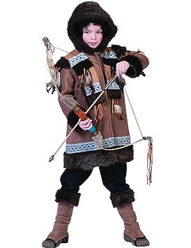 Disfraz esquimal niño 10-12 años (140/152): Amazon.es ...