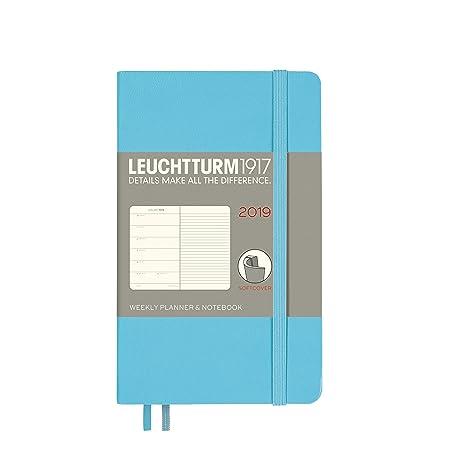 Amazon.com: LEUCHTTURM1917 Agenda semanal y cuaderno 2019 ...