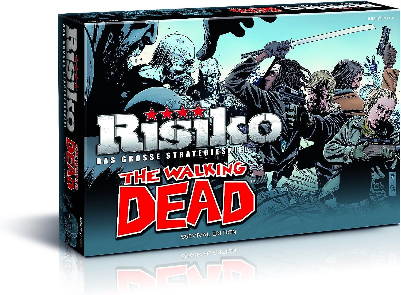 Winning Moves - Juego de Estrategia Risk, Tema The Walking Dead, 2 a 5 Jugadores (10746) (versión en alemán): Amazon.es: Juguetes y juegos