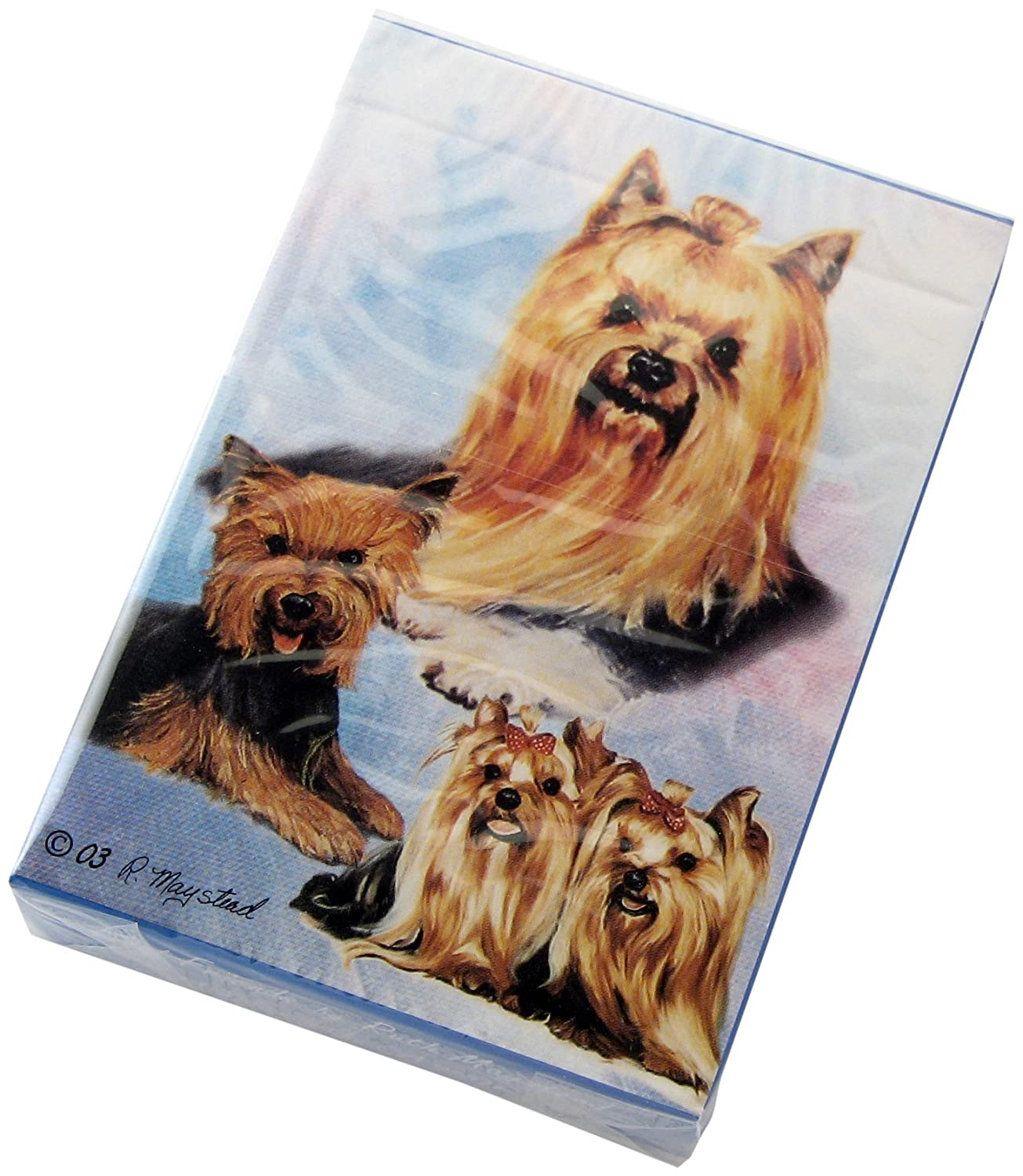 Yorkshire Terriers YOR-PC Best Friends Playing Cards by Ruth Maystead