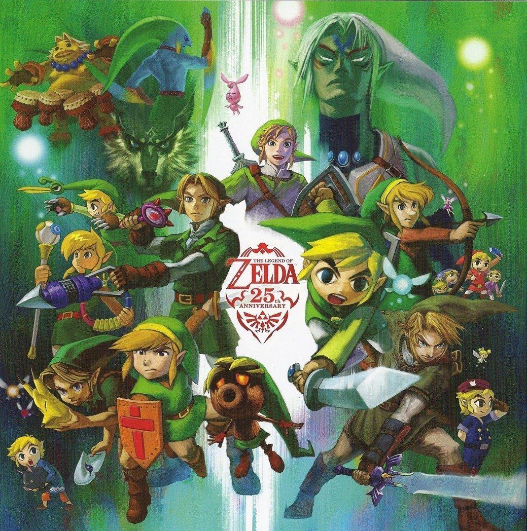 La Leyenda de Zelda 25th Anniversary Póster de ...