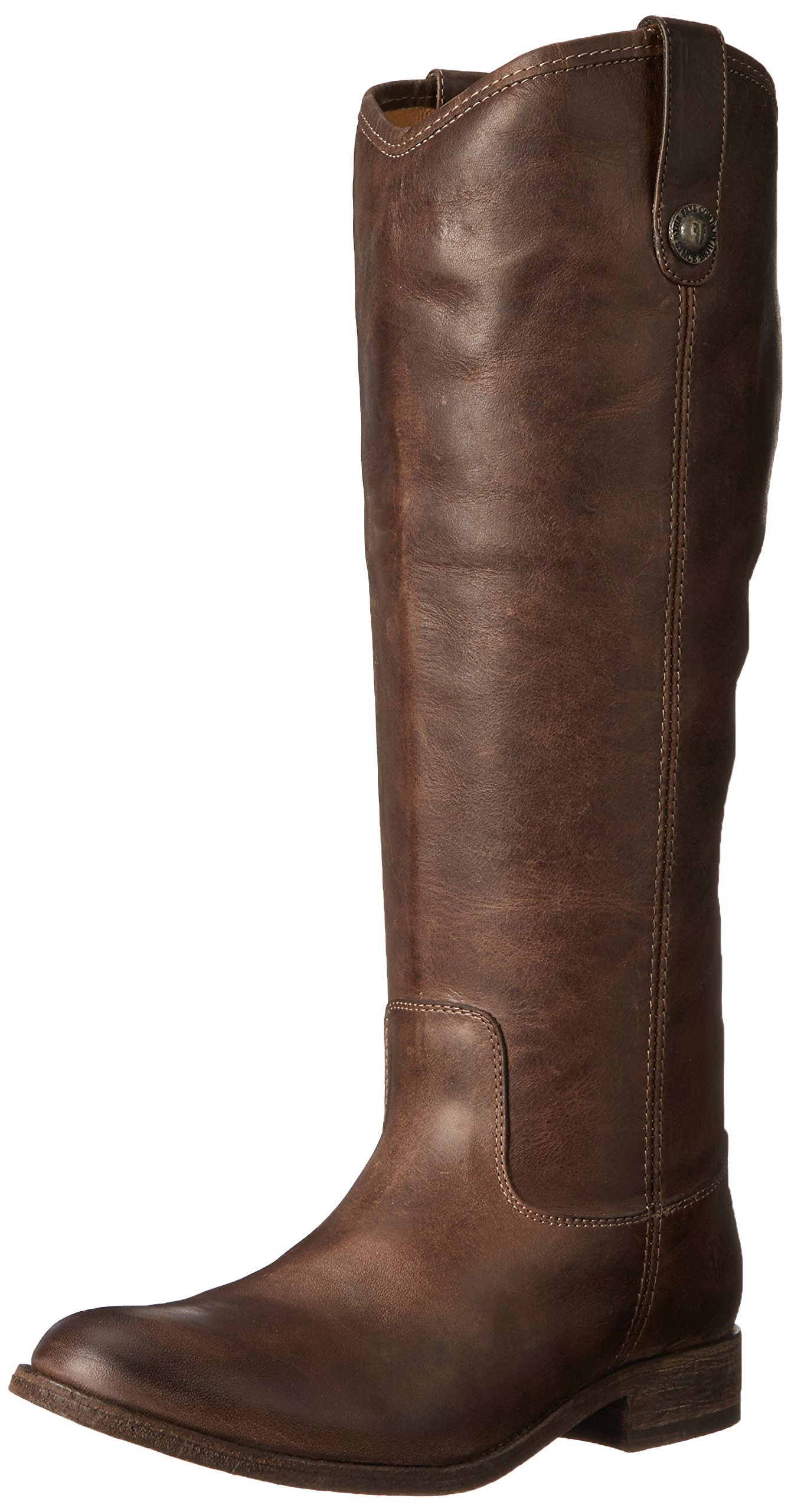 FRYE Women's Melissa Button-WAPU Riding Boot,  Slate Extended, 6 M US by FRYE
