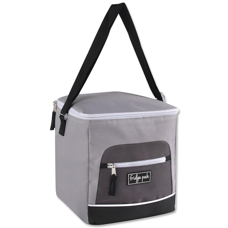 Fridge Pak Kühlschrank Pak (18 Kann) Große Kapazität Weich Kühltasche, Isoliert Grau