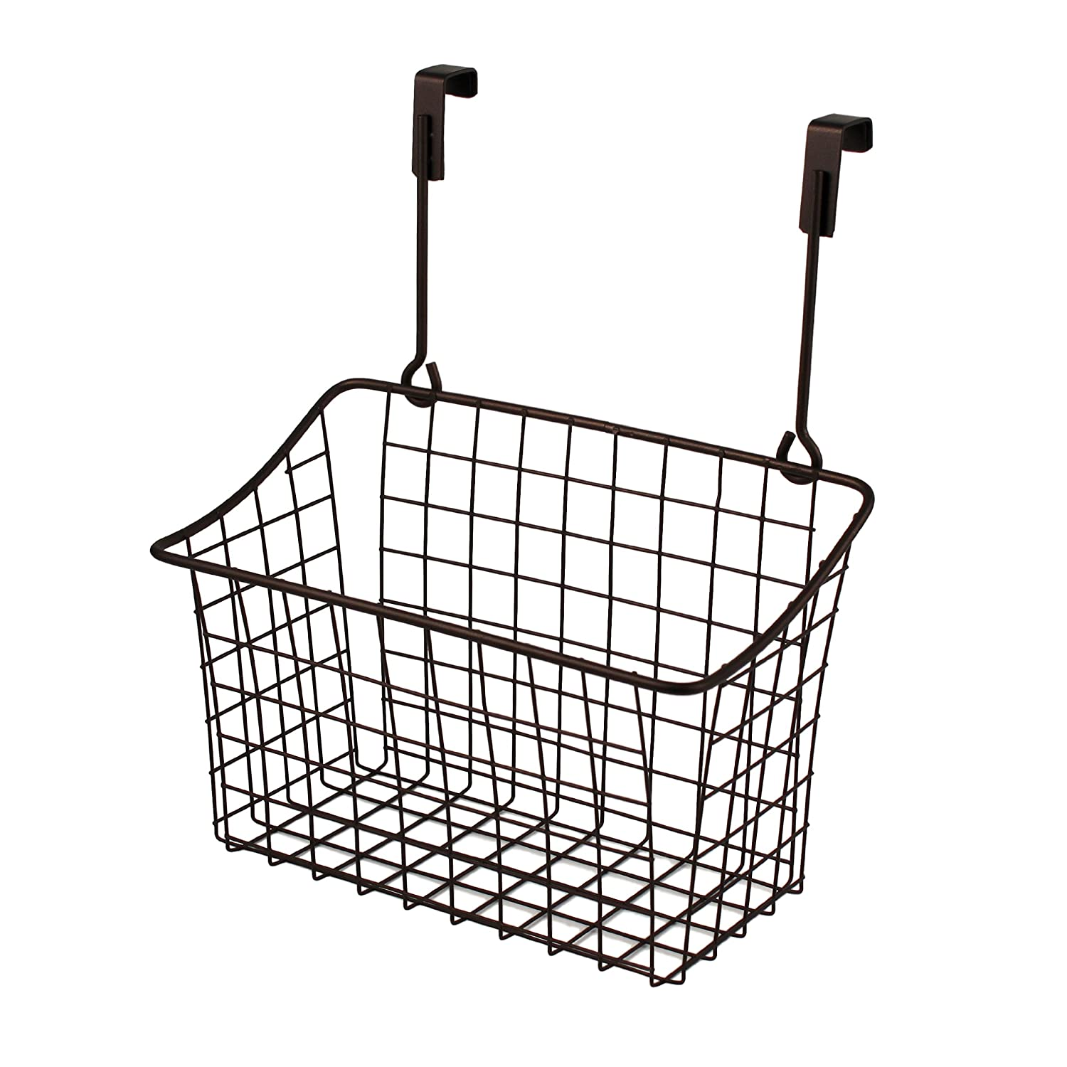 Amazon.com: Spectrum Diversified Grid Storage Basket, Over The Cabinet,  Medium, Bronze: Home U0026 Kitchen