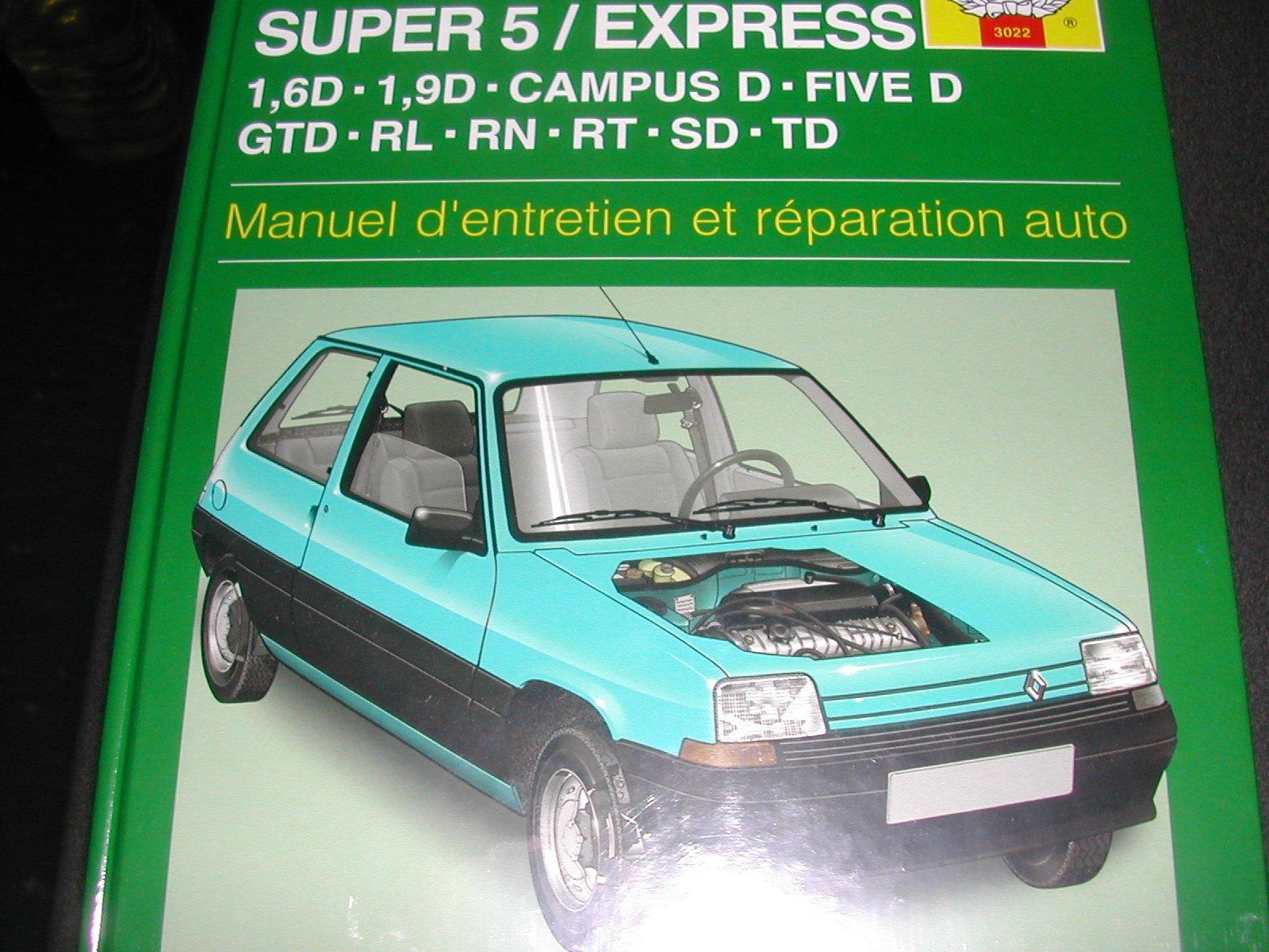 Renault Super 5 & Express Diesel (85 - 99): Amazon.es: Libros en idiomas extranjeros