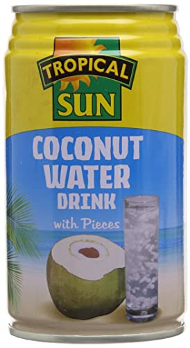 Tropical Sun Coconut Water with bits 330 ml (pack of 12)