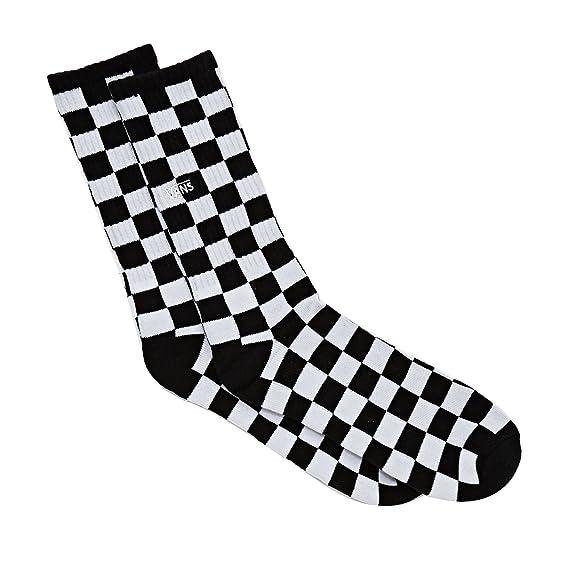 Vans Checkerboard II Crew (9.5-13, 1p), Calcetines para Hombre, Multicolor (Black-White Check Hu0), Talla única: Amazon.es: Ropa y accesorios