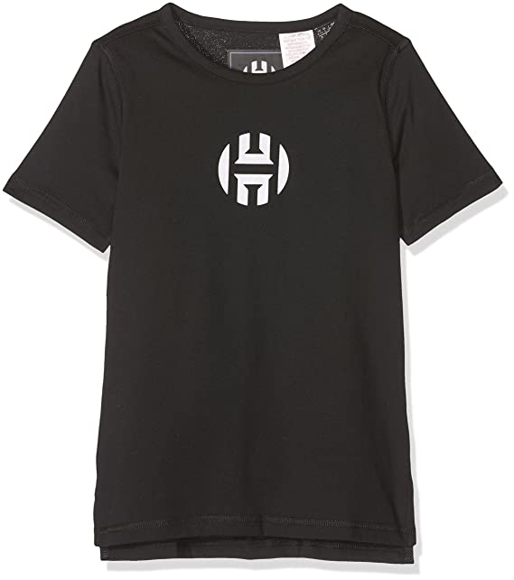 adidas Y Harden Logo T Camiseta de Baloncesto, Niños: Amazon.es ...