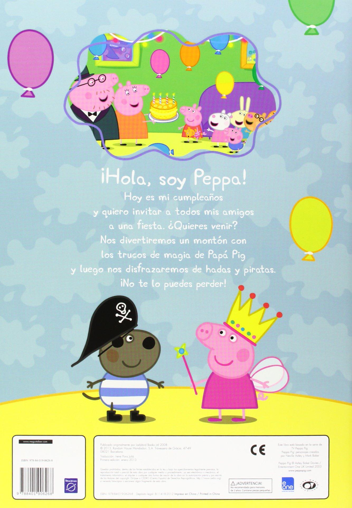 Peppa Pig Feliz Cumpleanos Peppa Aa Vv 9788401906268 Amazon