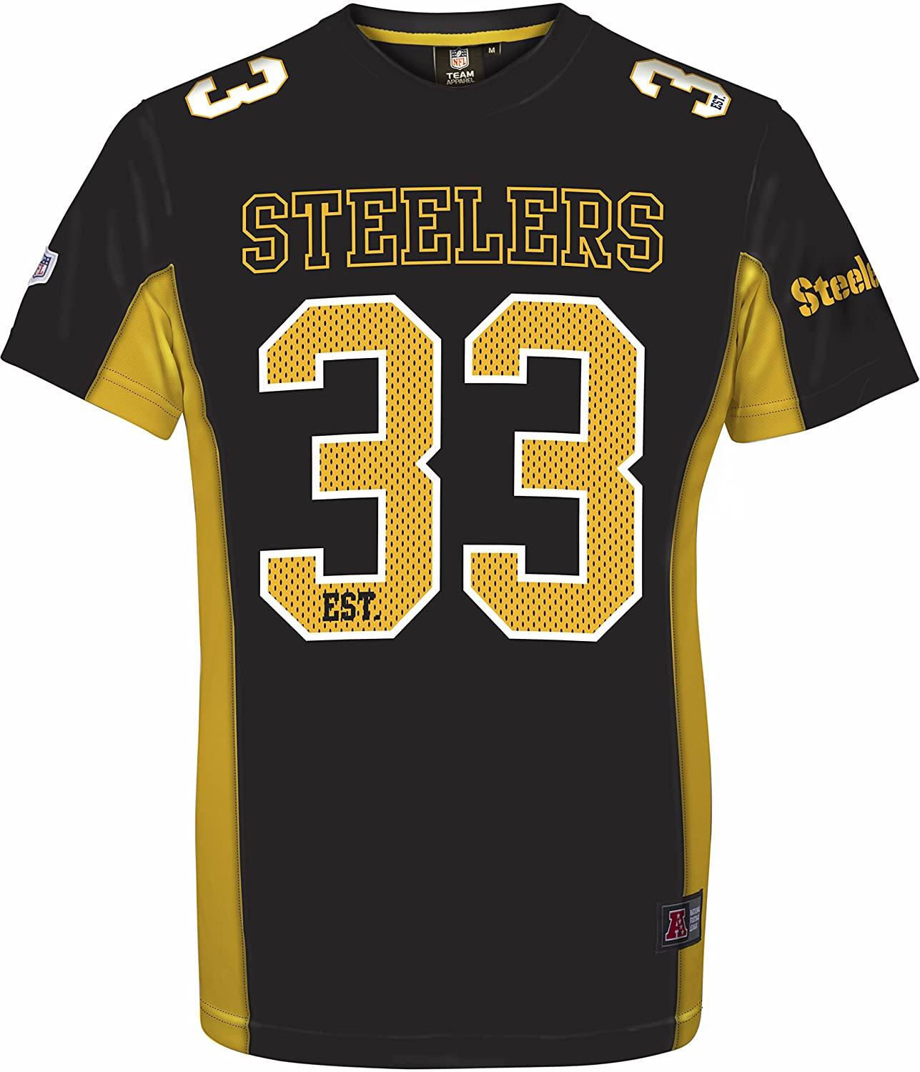 Majestic NFL Football Trikot Jersey Shirt Pittsburgh Steelers established majestic athletics