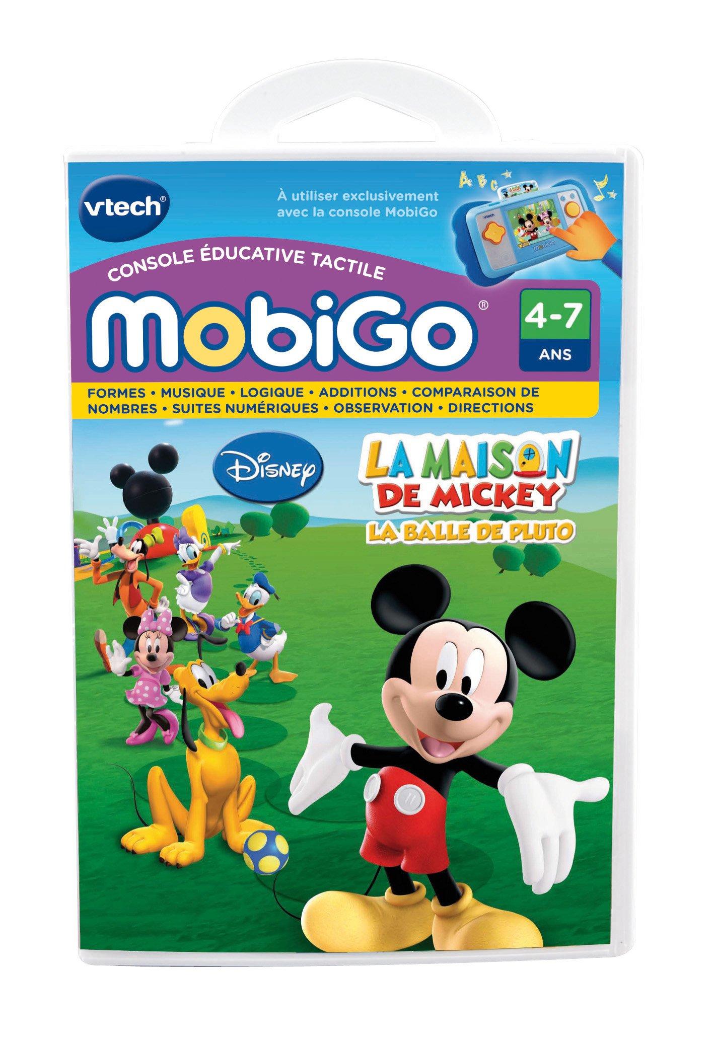VTech - 250505 - Jeu Éducatif Électronique - Jeu Mobigo - La Maison de Mickey product image