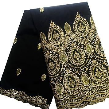 "africano George tejido de tafetán shantung bordado regalo seda vestido de novia encaje 52 """