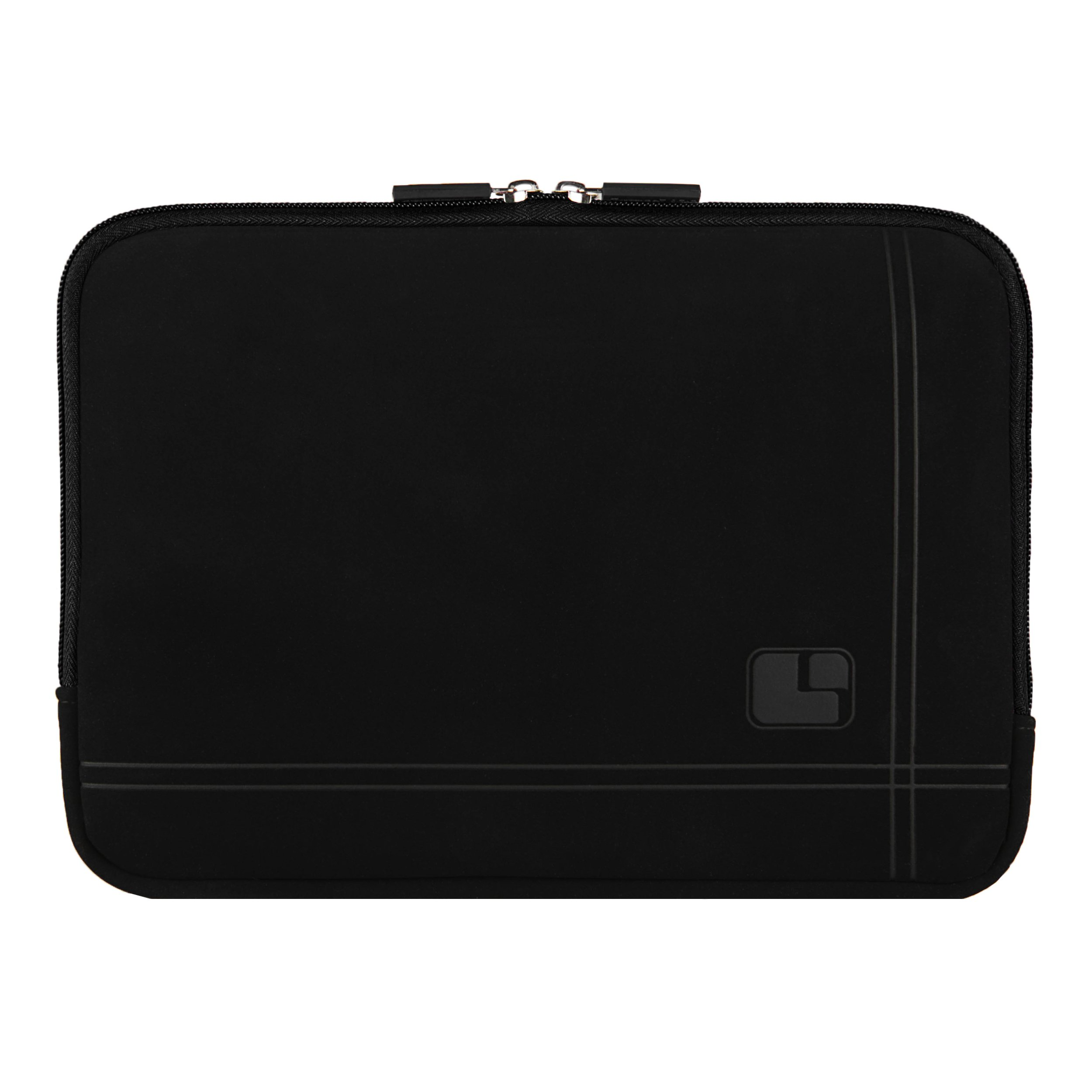 Black Suede Sleeve Case With Pocket protect All-New Kindle Fire HD 10 Slim Travel Pouch
