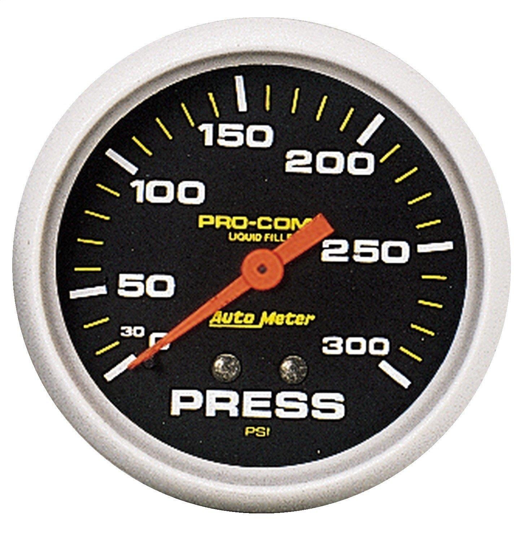 Auto Meter 5423 Pro-Comp Liquid-Filled Mechanical Pressure Gauge