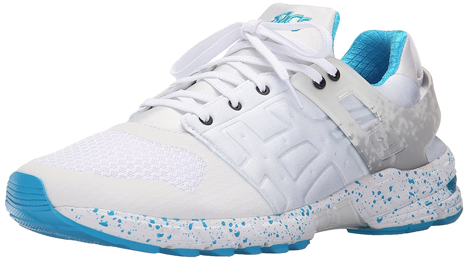 ASICS GT DS Retro Running Shoe B00ZQ4O7I6 6 M US|White/Atomic Blue