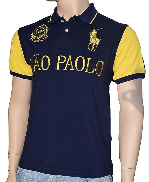 e47d67addc841 Polo Ralph Lauren Men s Short Sleeve Shirt with Big Pony (XXL