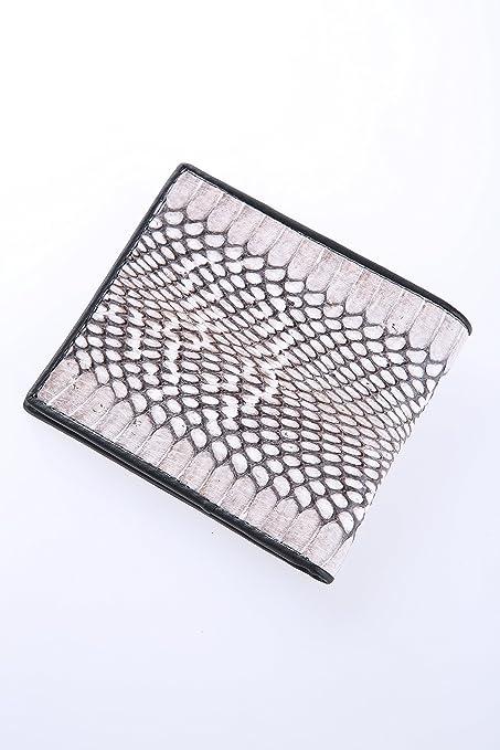 Elegante cartera de piel Cobra | Accesorios para hombre | Piel de serpiente