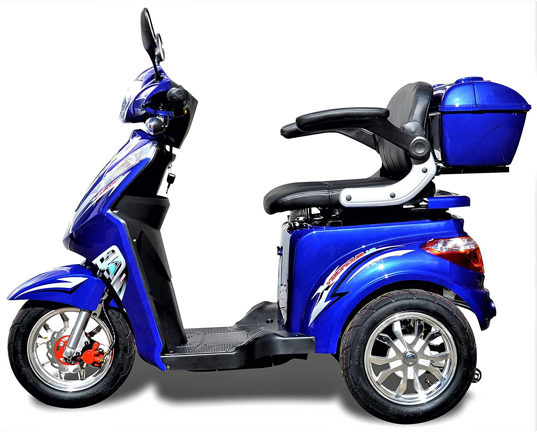 1000 W ESCO tres eléctrico 3 ruedas ESCO tres personas móvil ...