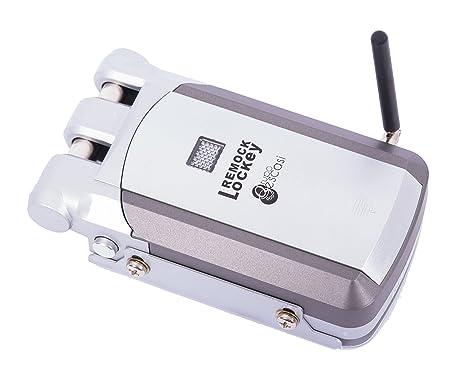 - Remock Lockey - Cerradura de seguridad invisible con 4 mandos a distancia. Este producto supone la solución perfecta contra los robos