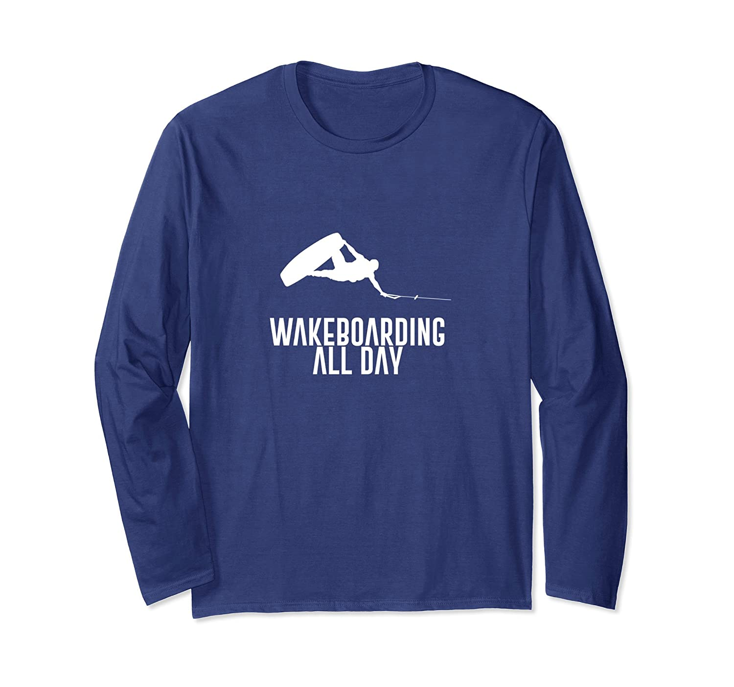 Wakeboarding all day freestyle fun T-shirt-alottee gift