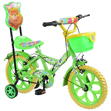 Buy Loop Cycles Kids Bicycle Green Yellow For 2 5 To 4 5 Age Group