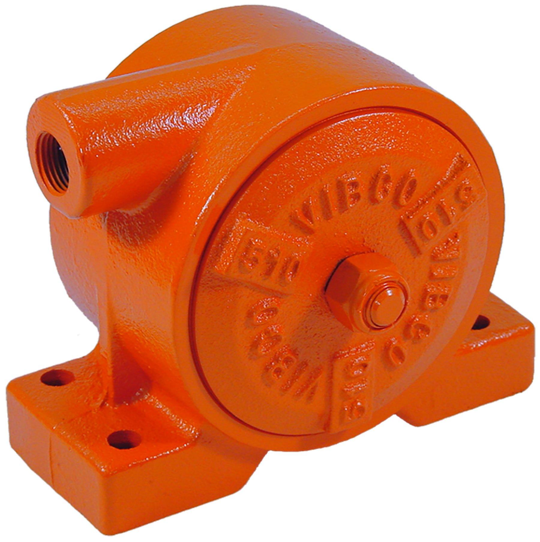 VIBCO VS-510 Silent Pneumatic Turbine Vibrator, 900 lb. Force, 4500 VPM, 21 CFM, 80 psi, 5 1/2'' Bolt Pattern
